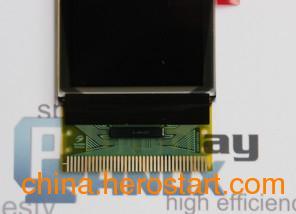 供应1.3寸全彩OLED显示屏