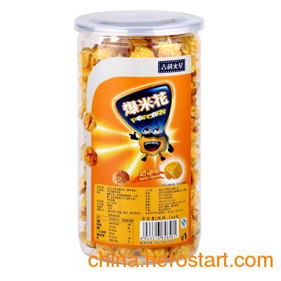 供应吉利火星148g即食爆米花 奶油味