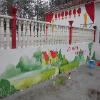 尚饰彩绘 校园文化彩绘 校园文化墙设计 尚饰壁画新选择