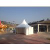 供应广州5mx5m铝合金白色尖顶帐篷
