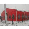 供应铝合金框架结构红色欧式帐篷