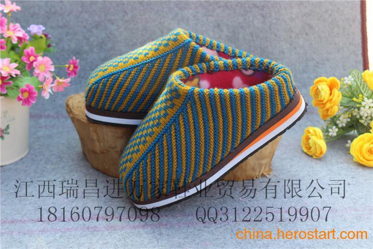 供应新款毛线棉拖鞋批发商 地摊鞋子批发最新价格优质毛线棉拖鞋
