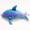 供应毛绒海豚公仔定做 厂家来图定制海豚礼品 小海豚挂件