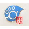 供应深圳哪里可以批发订制金属胸章 便宜的五金胸章定做 特价促销金属胸章定做厂家