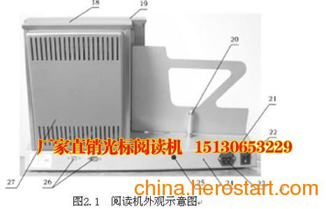 供应福建省南昊厂家直销答题卡光标阅读机网上阅卷系统