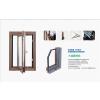 供应华兴高档木铝复合门窗价格 温馨时尚 大气坚固
