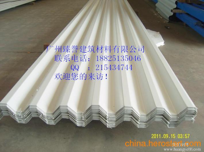 供应广东彩钢镀锌压型板YX35-125-750