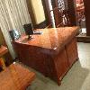 广西凭祥红木家具价钱如何 【供应】森欣红木有口碑的巴花大板现货特价实木大板桌茶艺桌