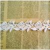 供应新款玫瑰花形刺绣条码花边 涤光花边现货 可来样定制 D20081