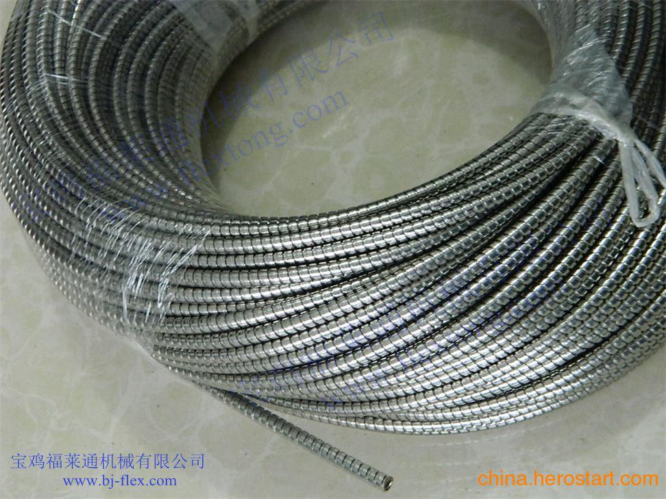供应福莱通双层不锈钢软管 双扣不锈钢蛇皮管 双勾不锈钢金属软管 优质耐用