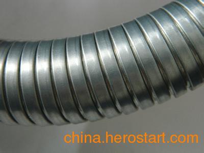 供应福莱通双扣抗拉型镀锌金属软管 双扣金属蛇皮管厂家直销