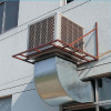 供应深圳厂房通风排风管冷气管道环保空调负压风机