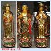 供应东方三圣铜佛像-达华法器