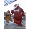 供应北京凌云制作泡沫卡通雕塑商场节庆泡沫雕塑厂家