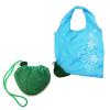 厂家供应折叠购物袋 创意草莓折叠袋 深圳购物袋厂家