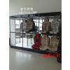 供应福建精品钛合金汽车坐垫展柜 组装座椅展示柜汽车用品展示柜
