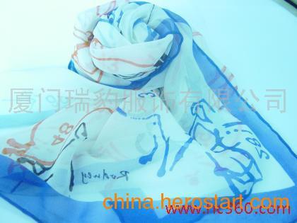 供应厦门丝巾、领带定制