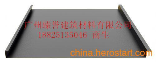 供应广州ZY25-430铝镁锰屋面板系统