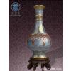 供應銀行金融商務中心陶瓷花瓶|景泰藍落地大花瓶