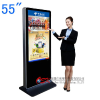 供应55寸立式安卓查询一体机 立式Android触控一体机 触摸查询广告机