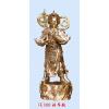 供应站韦驮-铜佛像-达华法器