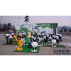 供应小羊肖恩卡通造型雕塑玻璃钢雕塑杭州泡沫雕塑