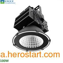 供应鳍片铝材400w投射灯 高光效LED工矿灯