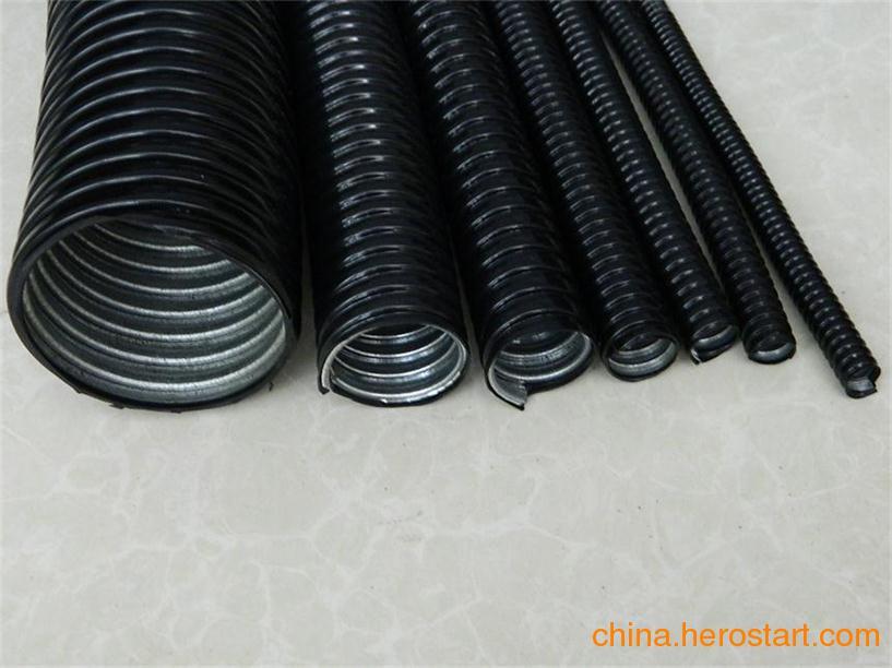 供应福莱通金属阻燃包塑软管 优质阻燃PVC塑料披覆 质量一流