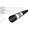 供应玖润牌SRTP钢丝网骨架复合管 ——黑色 dn160