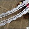 广州供应电脑绣花网布花边 棉线条花 刺绣服装辅料 蕾丝 面料花边