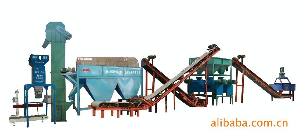供应衡水辊压造粒复混肥生产线