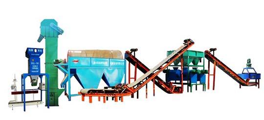 供应辊压造粒复混肥生产线