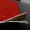 供应爆款车用PVC板 红色耐磨 橡塑 卷材 彩点石英砂地板革