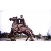 供应城市雕塑 古代人物雕塑 玻璃钢仿铜铜雕塑制作厂家