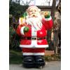 供应泡沫雕塑商城户外雕塑卡通人物雕塑圣诞老人泡沫雕塑