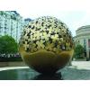 供应景观园林艺术雕塑 球形不锈钢雕塑 镂空不锈钢雕塑