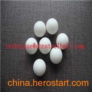 供应广东乾润钢球1.5mm尺寸Al2O3工业陶瓷球,白色