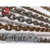 供应EN818-2标准起重链条镀锌防锈耐腐蚀起重链条