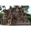 供应景观园林雕塑 民族装饰雕塑 苗族仿铜浮雕