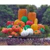 供应节日活动雕塑 水果艺术雕塑 节日水果拼盘景观雕塑