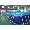 供应移动支架游泳池