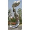 供应制作艺术雕塑造型 不锈钢雕塑 连年有余雕塑