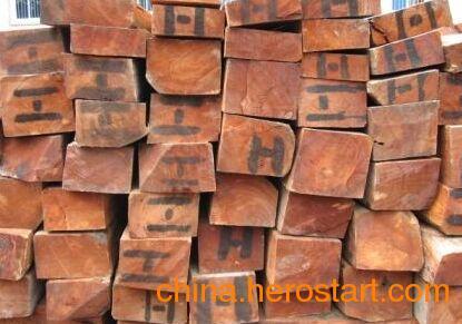 供应非洲缅茄木原木 各种规格齐全