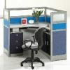特价沈阳办公家具,四人位办公桌,办公屏风,现代员工椅【光润】