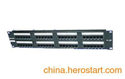 供应济南PPU24E-L唯康VCOM超五类24口屏蔽配线架体验馆价格