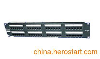 供应唯康VCOM六类非屏蔽24口配线架PPU246广州促销