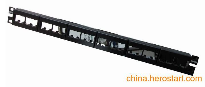 供应武汉泛达超五类非屏蔽24口配线架CPPL24WBL惊喜报价