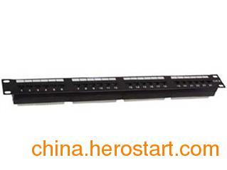 供应清华同方六类24口非屏蔽配线架CP21024