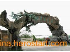 供应园林设计必备 河北锦绣河山仿真假树制造厂家