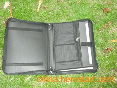 供应六格600D风琴文件包批量生产-[华夏风]质量第一服务到位 是您首选